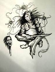 The Necromancer by MrZarono