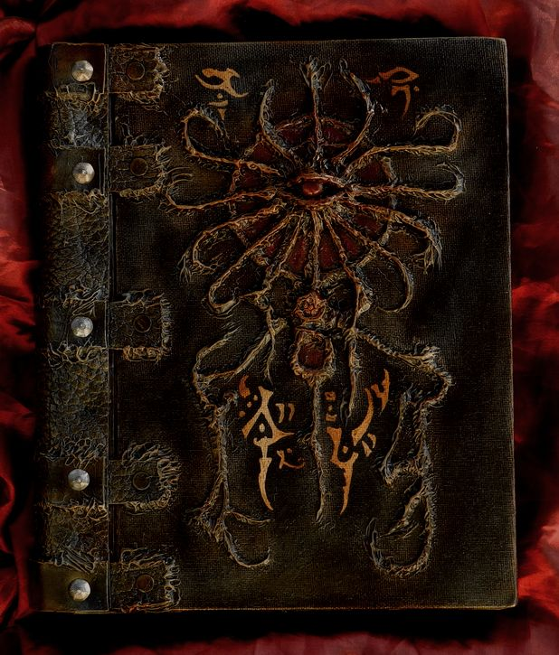 Necronomicon Book of the Red Offering by MrZarono