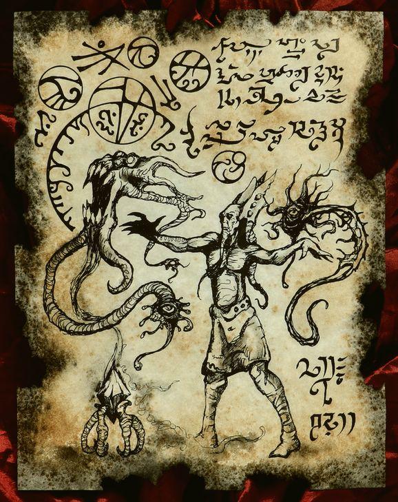 Lemurian Demonologist by MrZarono