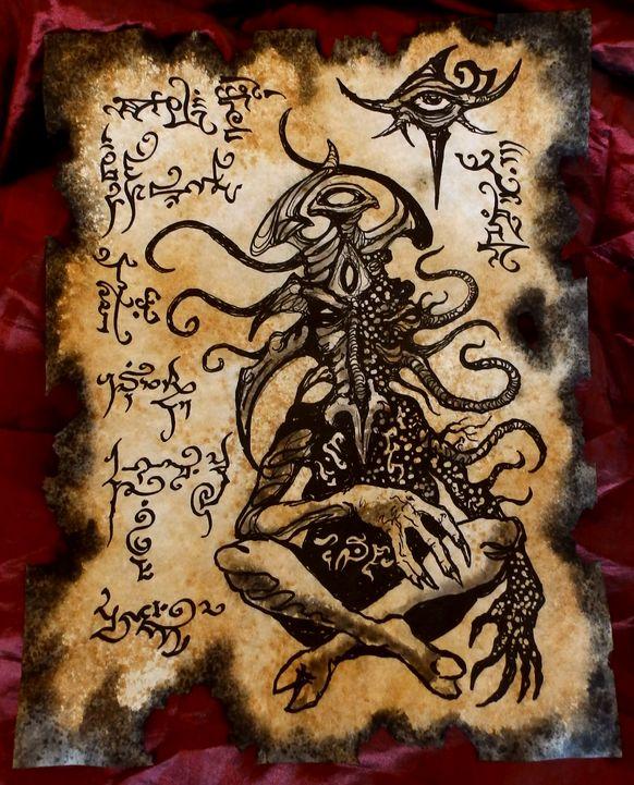 Strange Gods of Mu II by MrZarono