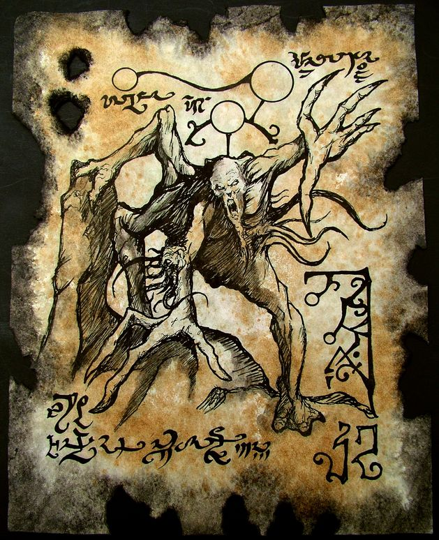 Abominations of Yog Sothoth by MrZarono