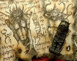 Idol of Goroth by MrZarono