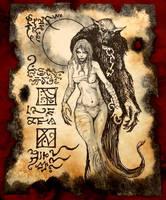 Werewolf Princess by MrZarono
