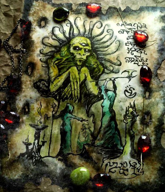 The Old Gods of Mu by MrZarono