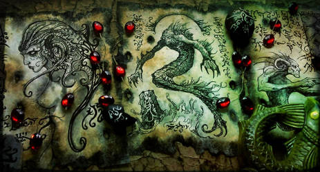 Spawn of the Sea Demon by MrZarono