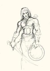 Huurgan rough sketch