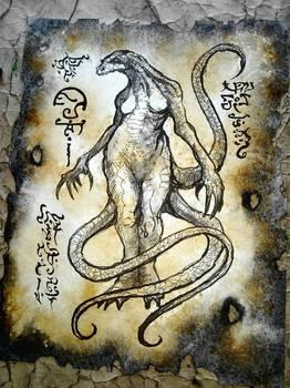 Serpent Demi Goddess