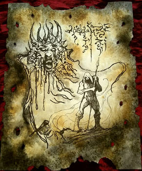 stain the earth with blood whispered Thasaidon