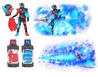 Kamen Rider Build AURORA-MATADOR FORM by CAMWOOO