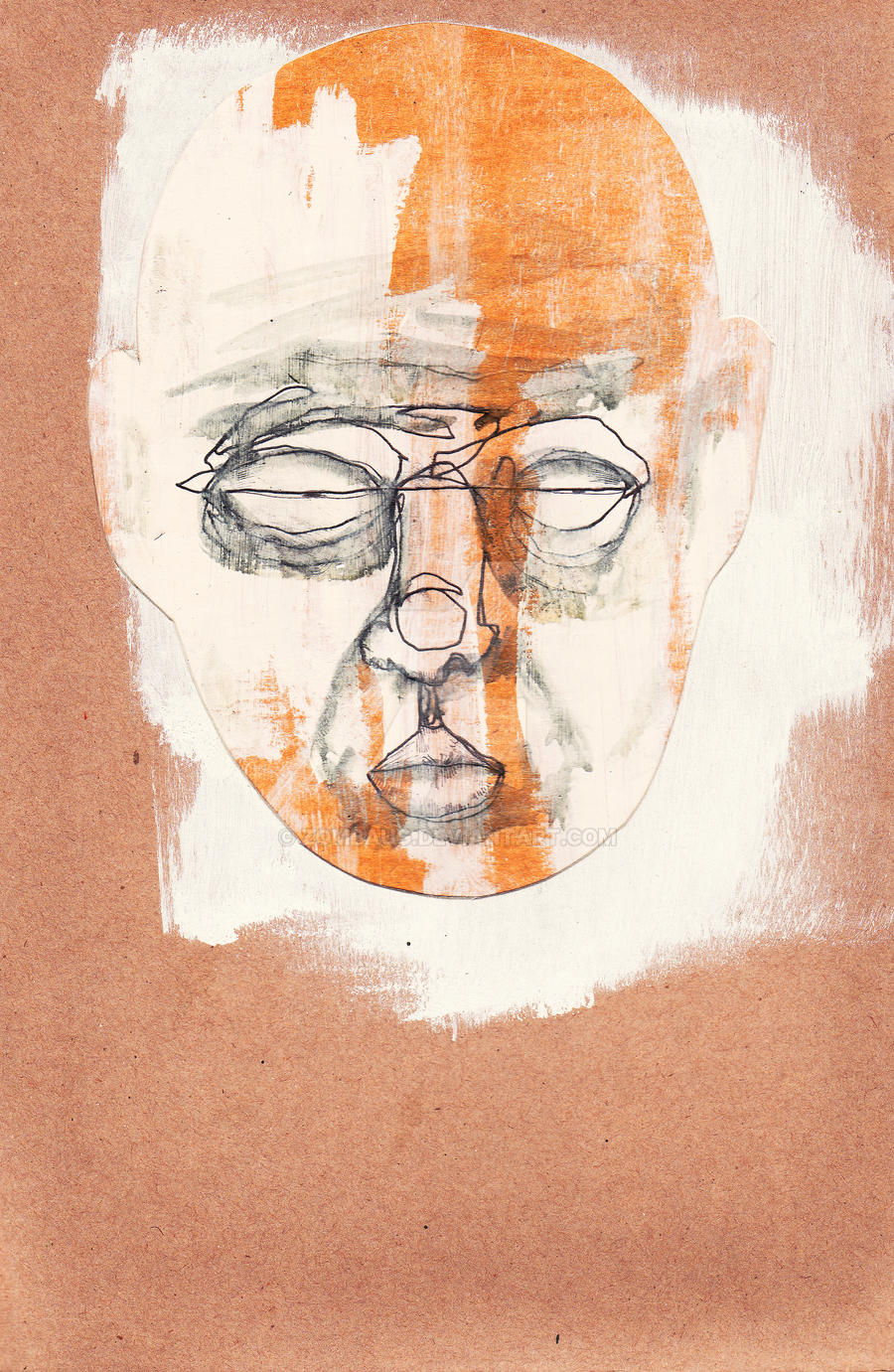Untitled Face Study 5 by ZombAug