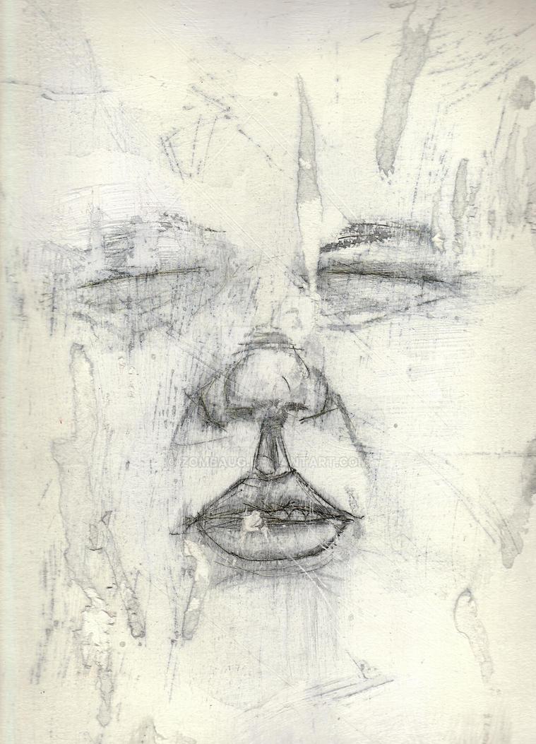 Face Study 4 by ZombAug