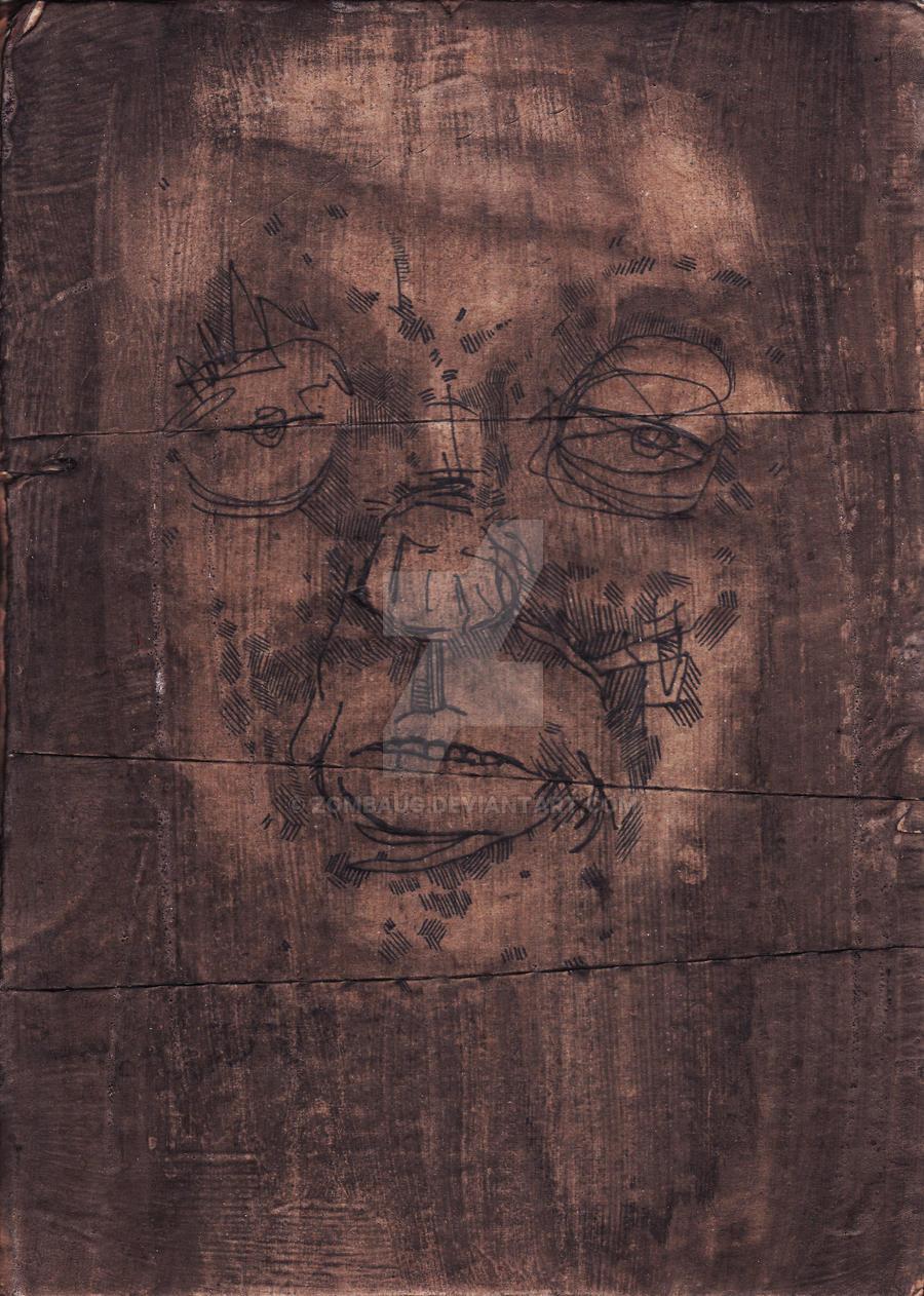 Untitled Face Study 6 by ZombAug