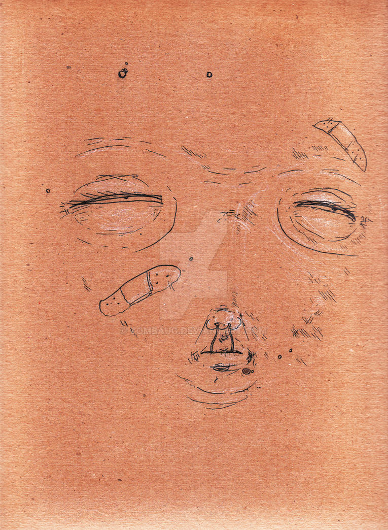 Untitled Face Study 9 by ZombAug