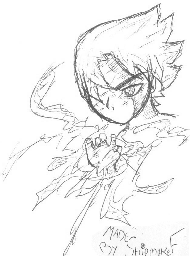 Uchiha Sasuke by stripmakerF