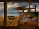 Safari-peinture
