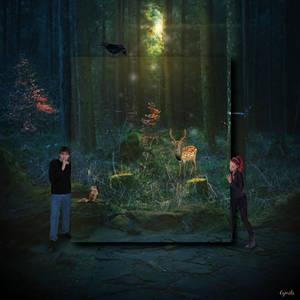 Dans les bois... by Eymele