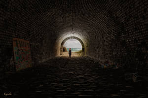Le bout du tunnel by Eymele
