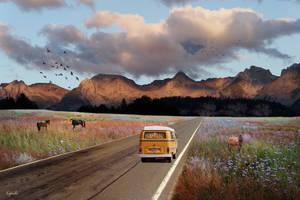 Sur la route by Eymele