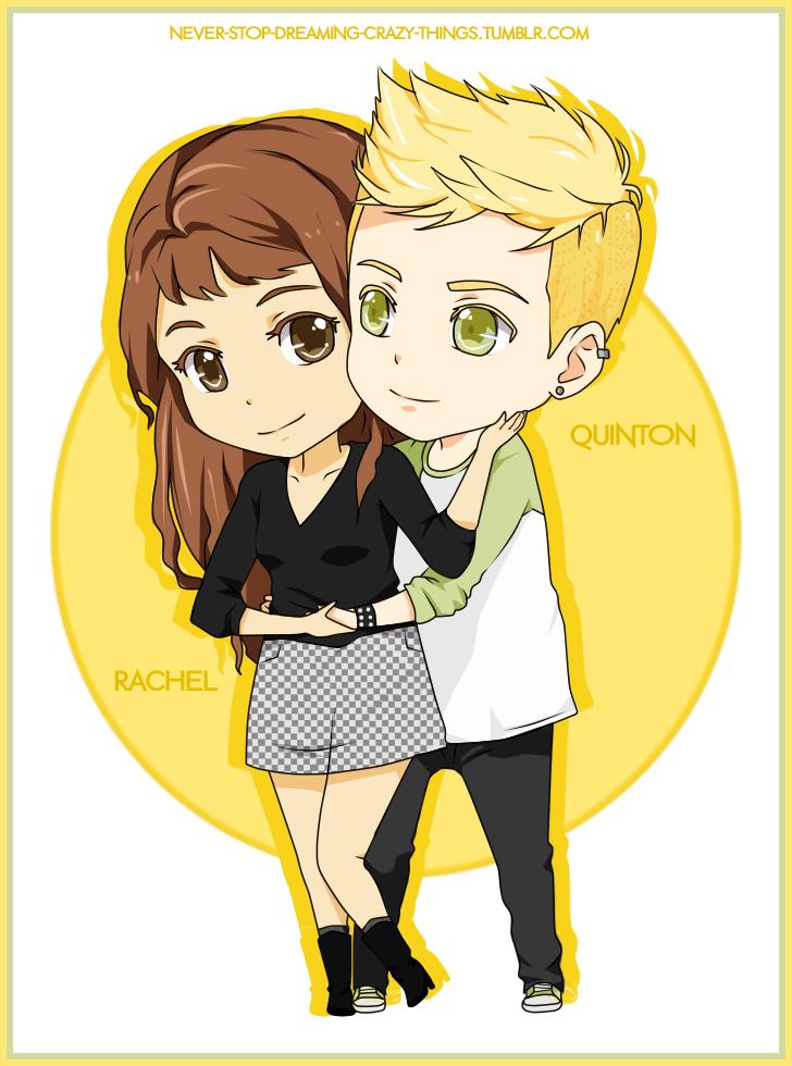 Glee fanfiction Rachel ja Quinn dating Deittailu Manteca CA