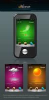 Deep Water Weather icons