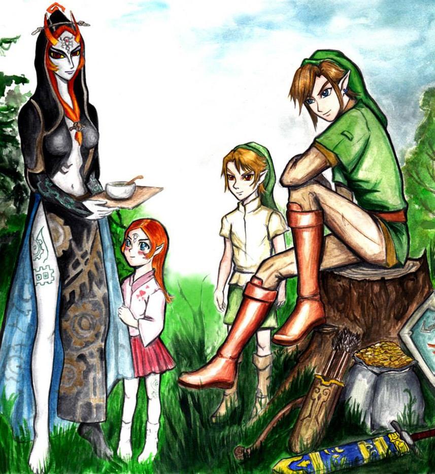 The Legend of Zelda by ReySilver