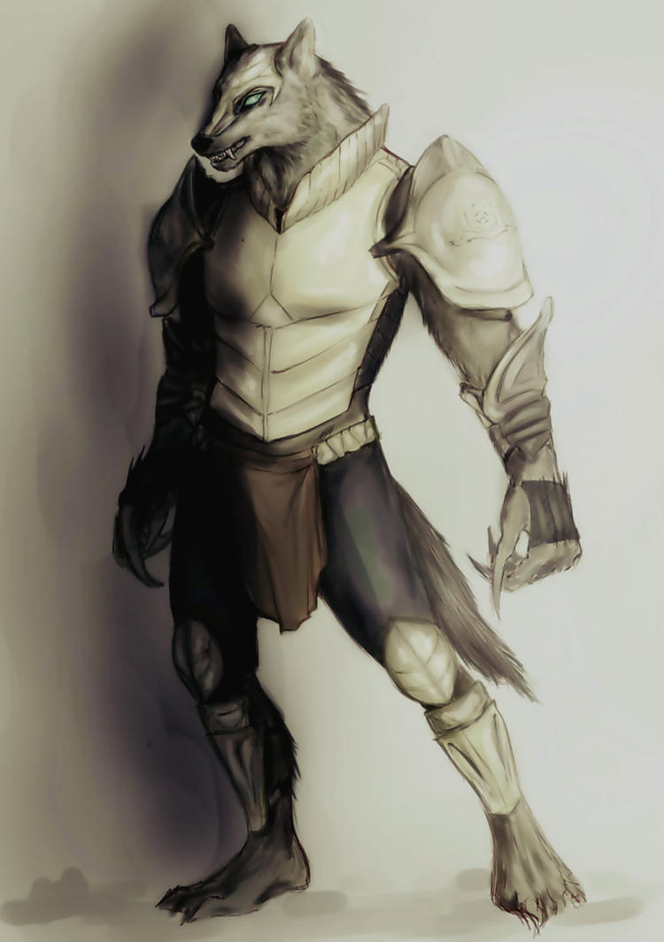 werewolf by ReySilver