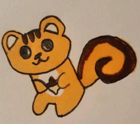Squirrel(Original) by coconuts777
