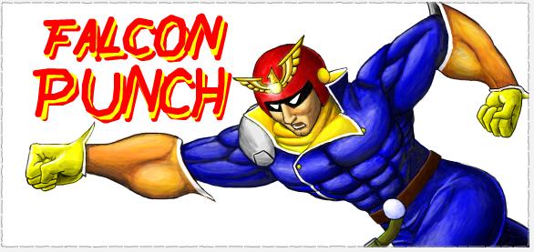Captain falcon punch - photo#9
