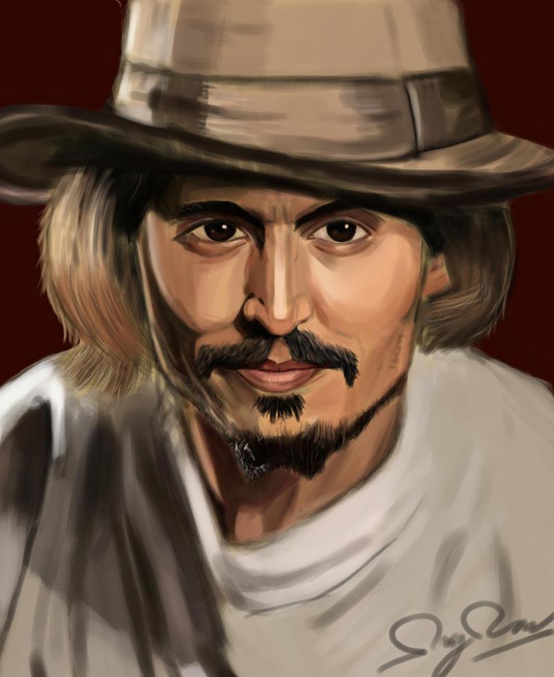 Johhny Depp by hellkid1221