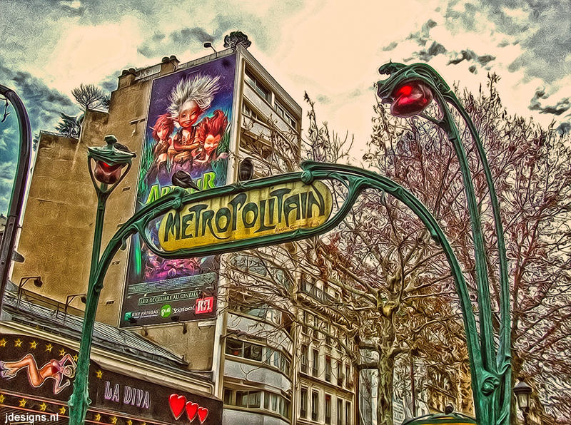 HDR Paris by jdesigns79