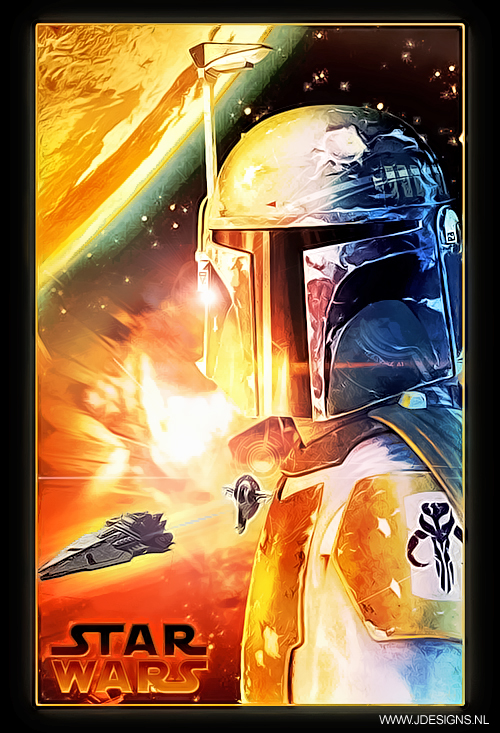 Star Wars : Boba Fett by jdesigns79