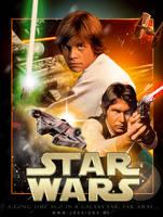 Star Wars Light Side Poster by jdesigns79