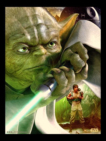 Star Wars : Yoda by jdesigns79
