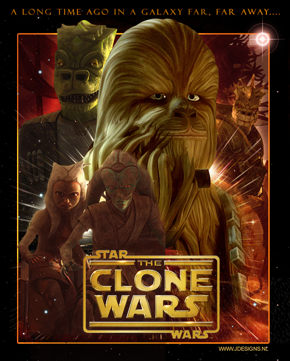 Star Wars : The Clone Wars by jdesigns79