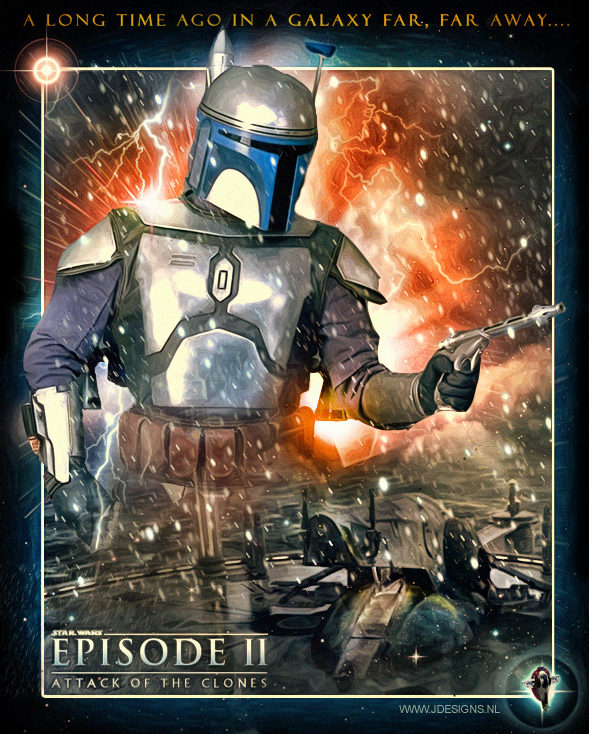 Star Wars : Jango Fett by jdesigns79