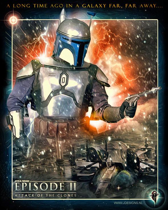 Star Wars : Jango Fett by jdesigns79