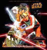 Star Wars: Ralph McQuarrie by jdesigns79