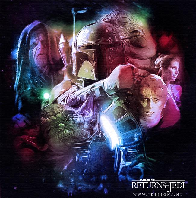 Star Wars: ROTJ v2 by jdesigns79