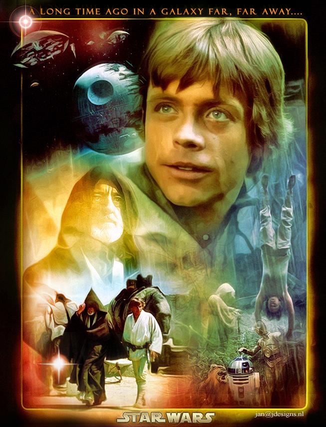 Star Wars: Luke Skywalker by jdesigns79