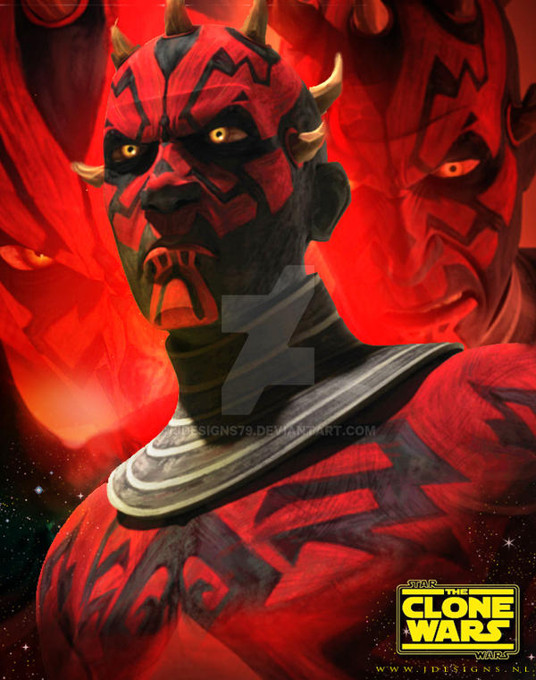 Star Wars: Darth Maul - Clone Wars by jdesigns79