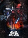 Star Wars Retro Style Poster