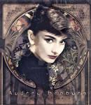 Audrey Hepburn - Art Nouveau