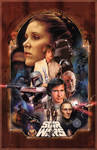 Star Wars - A long time ago Poster