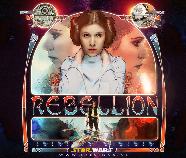 Star Wars : Rebellion by jdesigns79