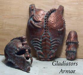 Gladiator armor by Angelsrflamabl