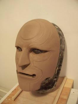 Amon Cosplay Mask WiP2