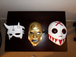 A few of the masks