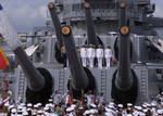Change of Command USS Missouri