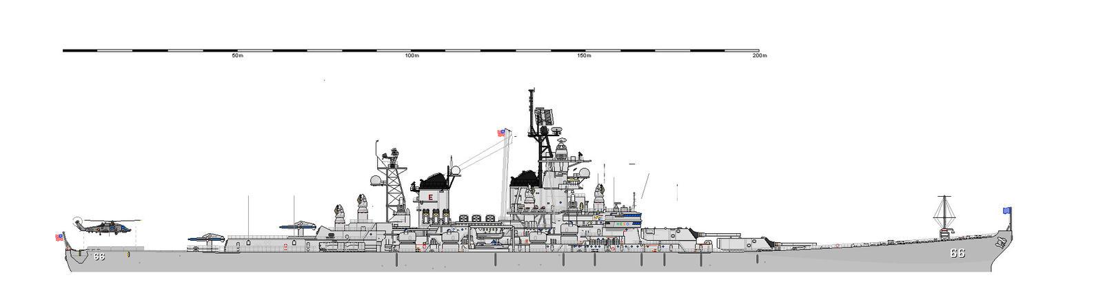 USS Kentucky sketch