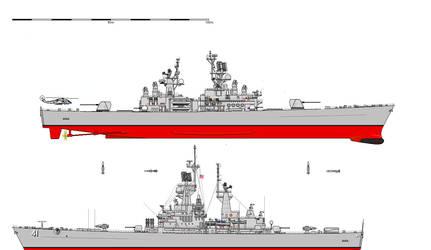 Nuclear Powered Cruiser (Non Aegis CGN)